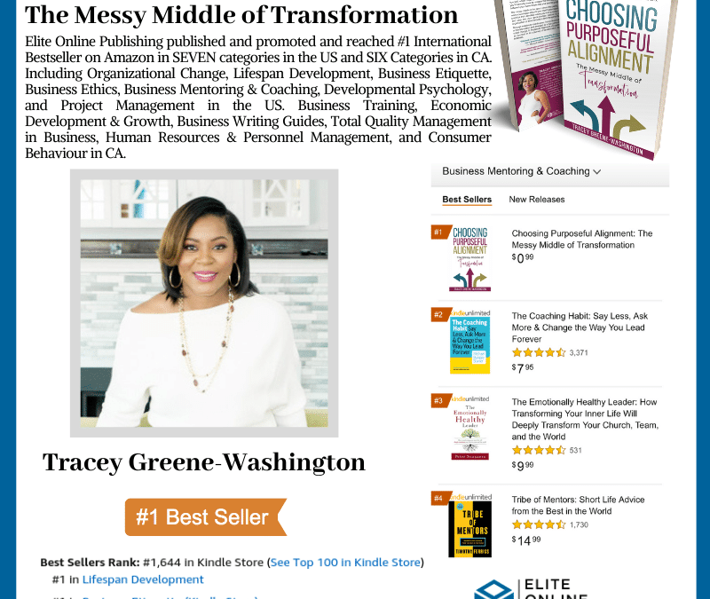 Tracey Greene-Washington Hit #1 International Bestseller