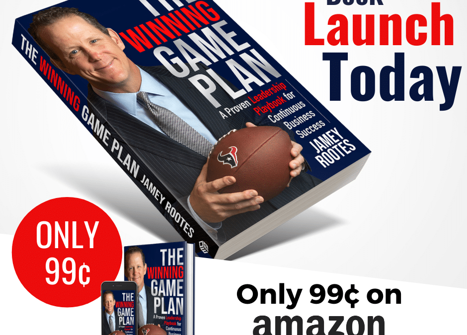 Book Release – The Winning Game Plan by Jamey Rootes
