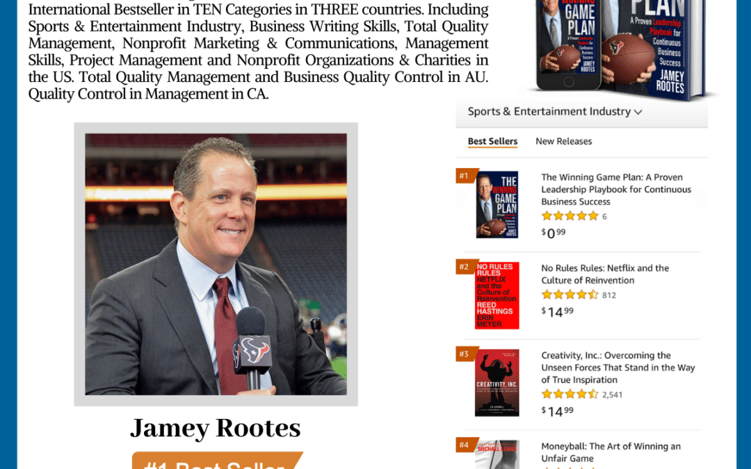 Author Jamey Rootes achieves #1 International Bestseller With His New Book