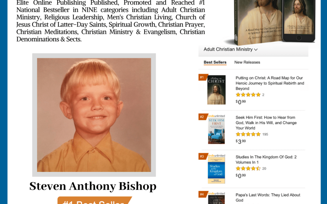 Author Steven Anthony Bishop Achieves #1 National Bestseller With His New Book