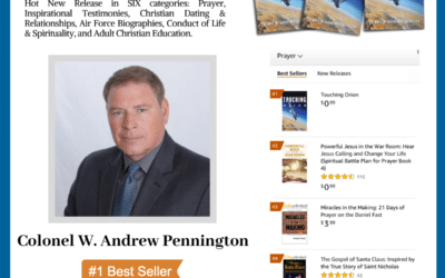 Author Colonel W. Andrew Pennington Achieves #1 International Bestseller With His New Book