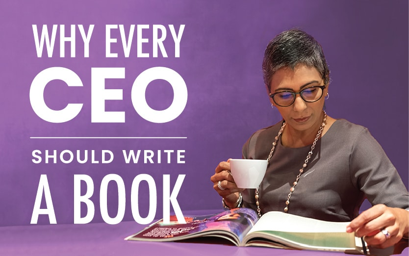 Why Every CEO Should Write A Book