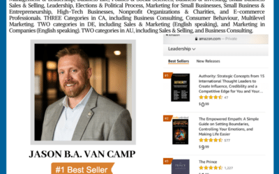 Author Jason B.A. Van Camp Achieves Wall Street Journal Bestselling Author