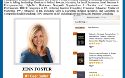 Author Jenn Foster Achieves Wall Street Journal Bestselling Author