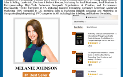Author Melanie Johnson Achieves Wall Street Journal Bestselling Author
