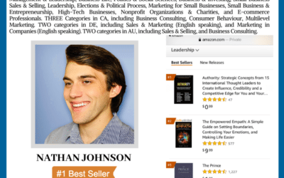 Author Nathan Johnson Achieves Wall Street Journal Bestselling Author
