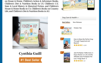 """Author Cynthia Guill Reaches #1 International Bestselling Author with her book """"Hungry Hap"""""""