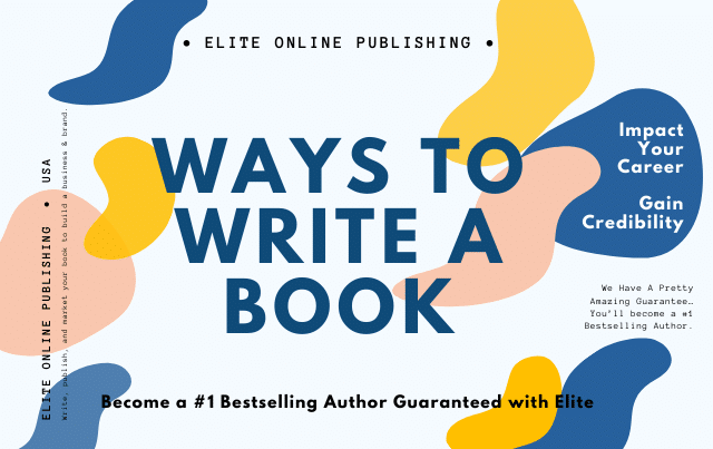 Ways To Write A Book