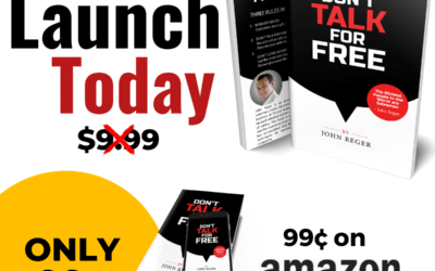 [Book Release] Don't Talk for Free by John Reger