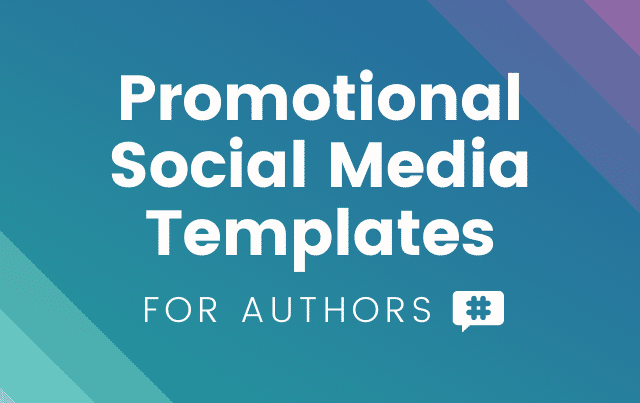 Promotional Social Media Templates for Authors