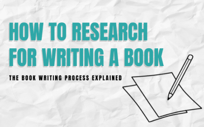 How To Research for Writing a Book