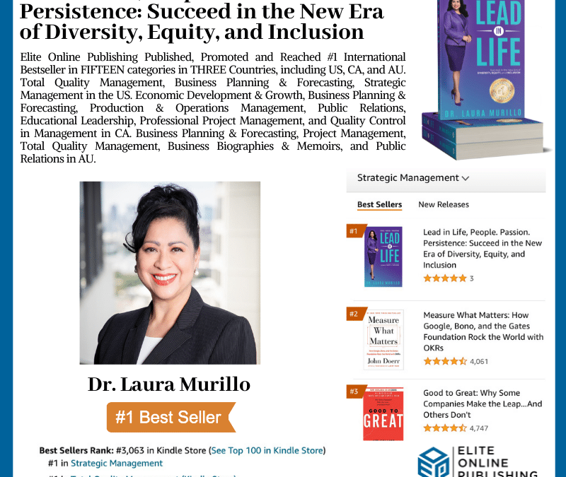 #1 International Bestselling Author Dr. Laura Murillo