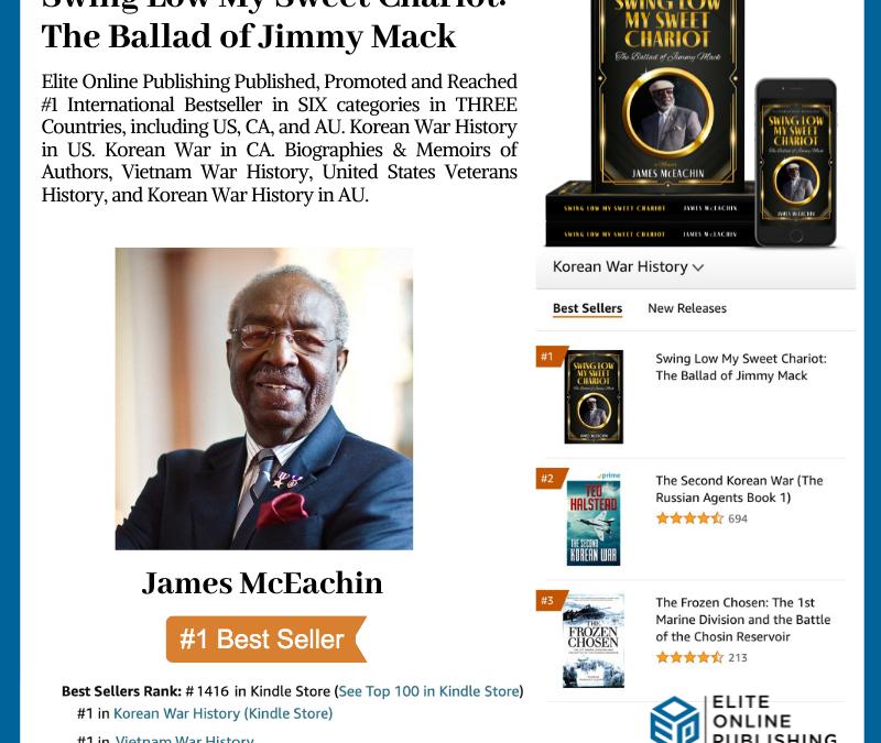 #1 International Bestselling Author James McEachin
